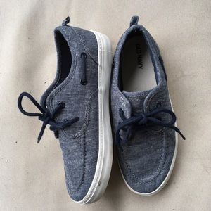 Old Navy Boys Boat Shoes Size 3